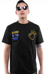 Adapt x illest - Illest in the Game Men's Shirt, Black - The Giant Peach - 1
