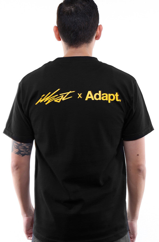 Adapt x illest - Illest in the Game Men's Shirt, Black - The Giant Peach