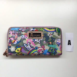 tokidoki - Camo Kawaii Long Wallet