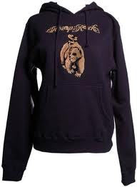Aesop Rock - Bear Women's Hoodie, Navy - The Giant Peach