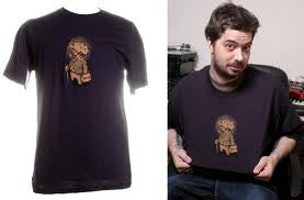 Aesop Rock - Pig Men's Shirt, Navy - The Giant Peach - 2