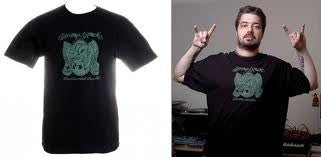 Aesop Rock - None Shall Pass Men's Shirt, Black - The Giant Peach - 2