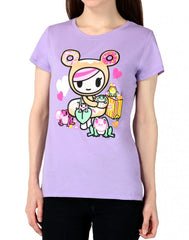 tokidoki - Bubbly Women's Tee, Lavender - The Giant Peach