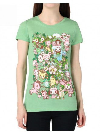 tokidoki - Jungle Jam Women's Tee, Mint