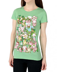 tokidoki - Jungle Jam Women's Tee, Mint - The Giant Peach