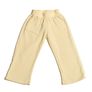 Loyal Army - Toddler Bottom Pants, Ivory - The Giant Peach