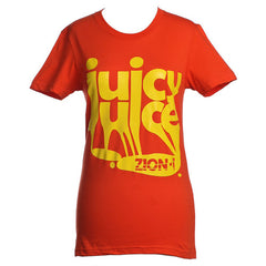 Zion I - Juicy Juice Women's Shirt, Orange - The Giant Peach