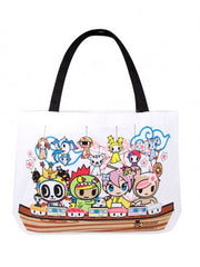 tokidoki - Kaiten Sushi Canvas Tote - The Giant Peach