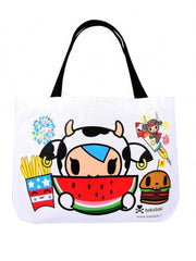tokidoki - Mozzarella Summer Canvas Tote - The Giant Peach