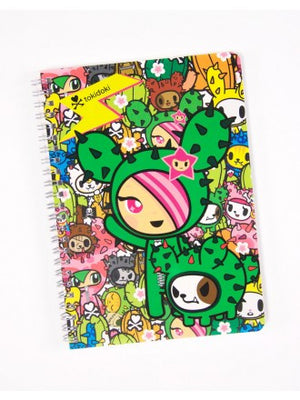 tokidoki -  Sandy Spiral Notebook - The Giant Peach