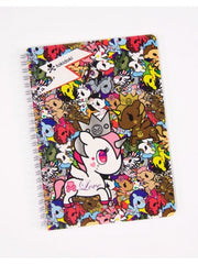 tokidoki -  Unicornos Spiral Notebook - The Giant Peach