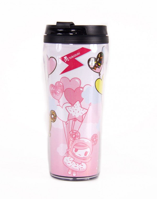 tokidoki  - Donutella Balloon Tumbler - The Giant Peach