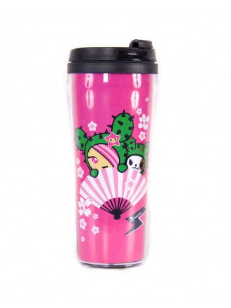 tokidoki  - Sandy Fan Tumbler - The Giant Peach