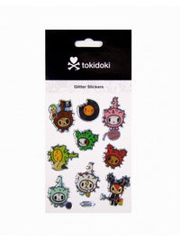 tokidoki - Cactus Glitter Stickers - The Giant Peach
