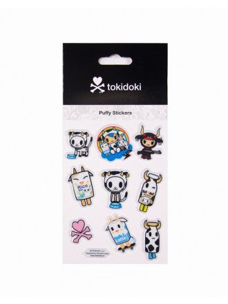 tokidoki - Moofia Puffy Stickers