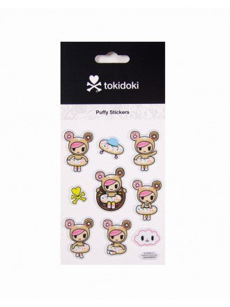 tokidoki - Donutella Puffy Stickers