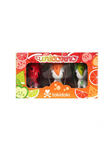 tokidoki - Unicorno Fruit 3-Pack Vinyl Figures