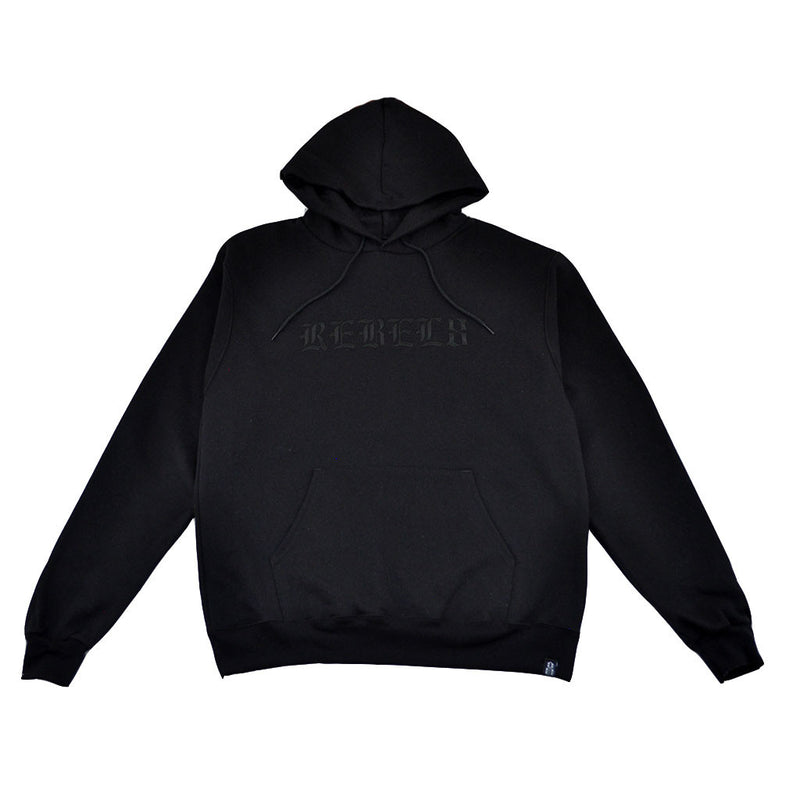 REBEL8 - Immortal Men's Champion Pullover Hoodie, Black - The Giant Peach