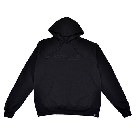 REBEL8 - Immortal Men's Champion Pullover Hoodie, Black