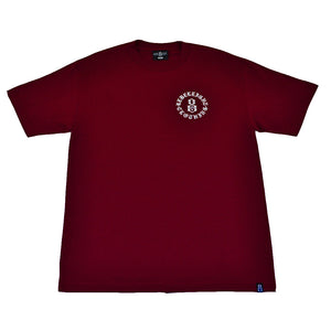 REBEL8 - Immortals Men's Tee, Burgundy - The Giant Peach