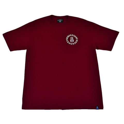 REBEL8 - Immortals Men's Tee, Burgundy