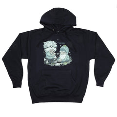 The Uncluded - Hokey Fright Men's Hoodie, Navy - The Giant Peach