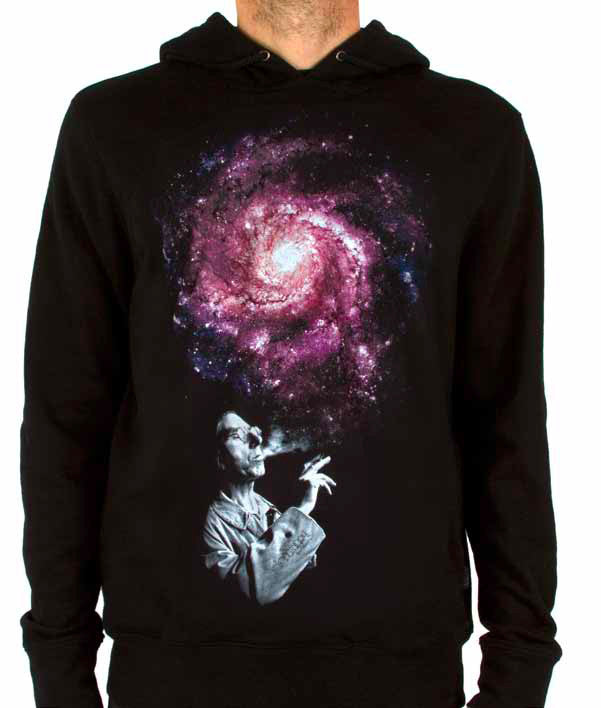 Imaginary Foundation - Infinite Men's Pullover Hoodie, Black - The Giant Peach