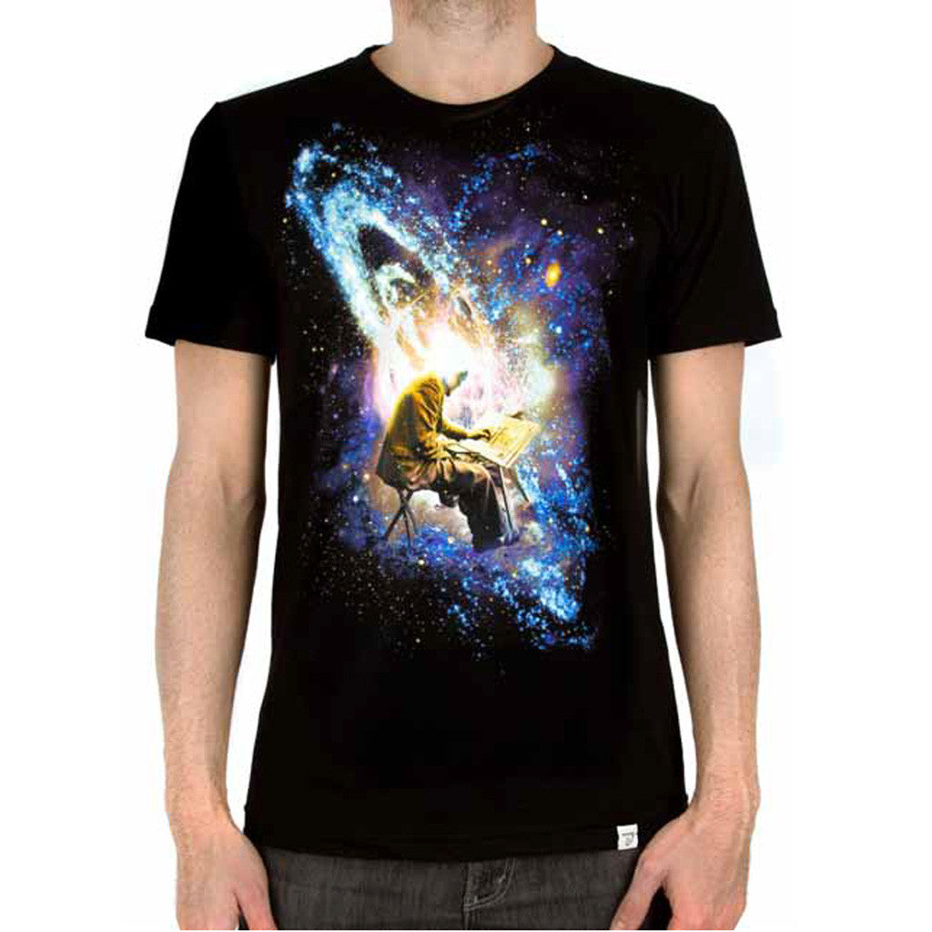 Imaginary Foundation - Interstellar Men's Shirt, Black - The Giant Peach