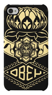 Incase x Shepard Fairey - Lotus Ornament Case for iPhone 4 & 4s - The Giant Peach - 1
