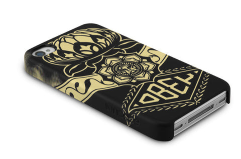 Incase x Shepard Fairey - Lotus Ornament Case for iPhone 4 & 4s