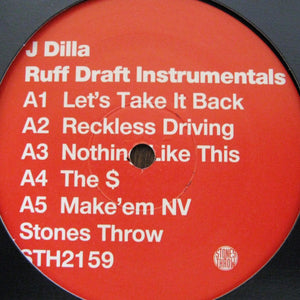 J Dilla - Ruff Draft (Instrumentals), LP Vinyl - The Giant Peach