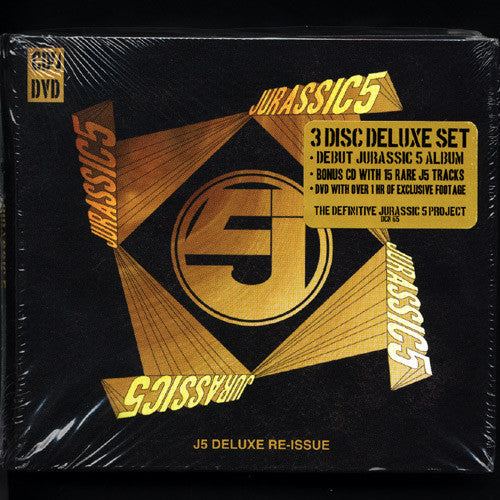 Jurassic 5 - J5-11th Anniversary Re-Issue, CD+DVD (3 Disc) - The Giant Peach
