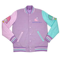 JapanLA - Little Twin Stars Varsity Jacket - The Giant Peach - 1
