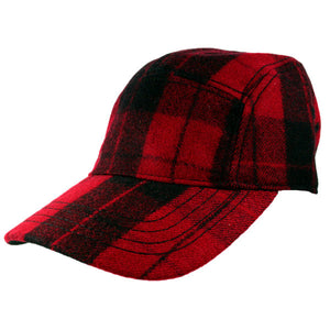 New Era - EK Jack Scarlet Cap, Red/Black - The Giant Peach