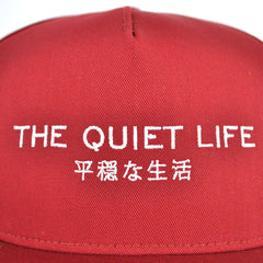 The Quiet Life - Japan Snapback, Cardinal - The Giant Peach