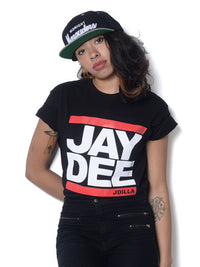 J Dilla - Jay Dee Men's Shirt, Black - The Giant Peach