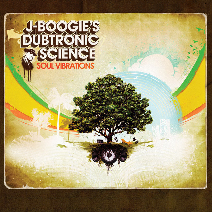 J Boogie - Dubtronic Science: Soul Vibrations, CD - The Giant Peach