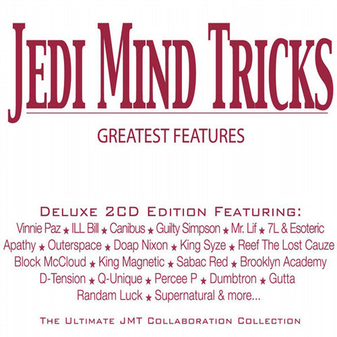 Jedi Mind Tricks - Greatest Features, 2xCD