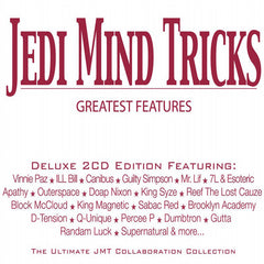 Jedi Mind Tricks - Greatest Features, 2xCD - The Giant Peach