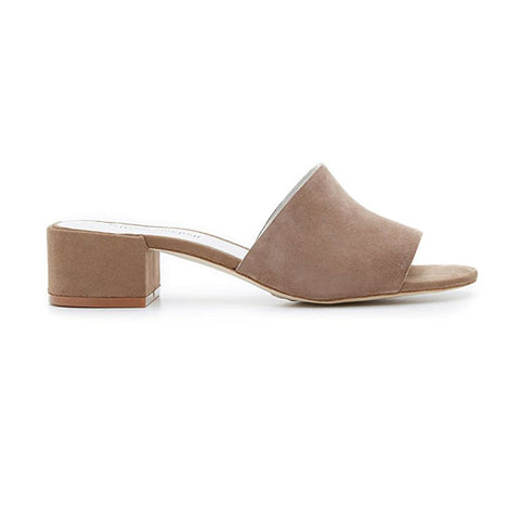 Jeffrey Campbell - Beaton Mules, Nude Suede