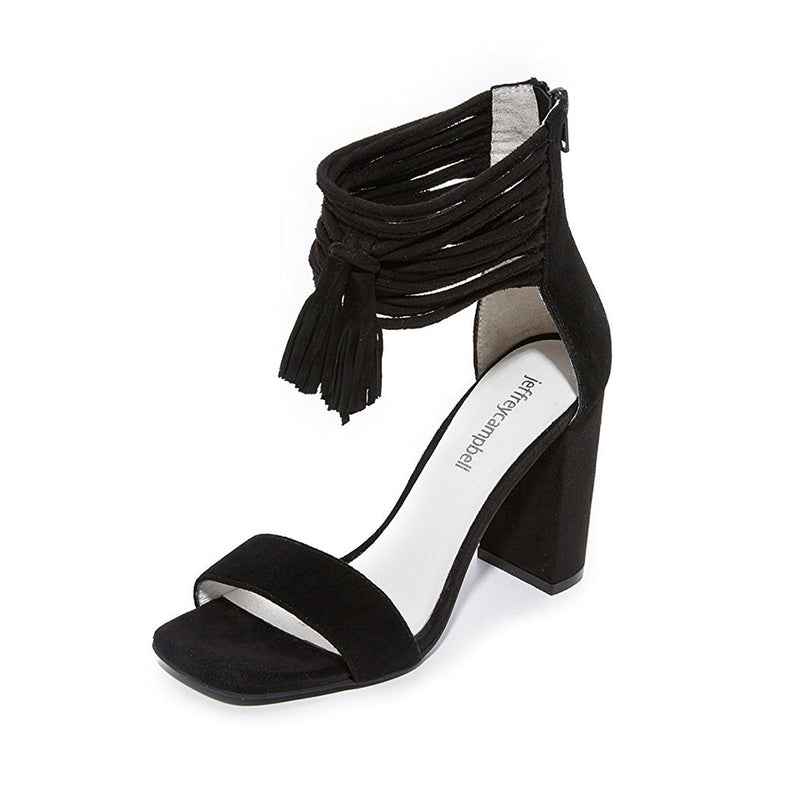 Jeffrey Campbell - Formosa Heel, Black Suede - The Giant Peach