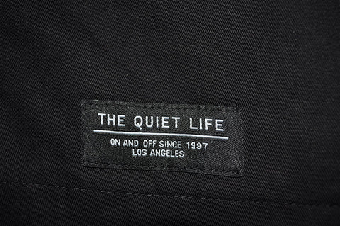 The Quiet Life - Jones Men's Canvas Jacket, Black