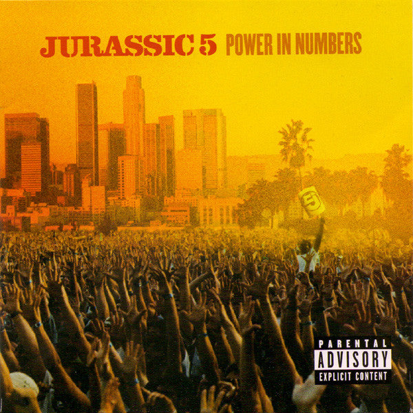 Jurassic 5 - Power In Numbers, CD - The Giant Peach