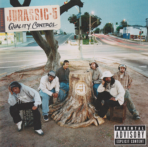 Jurassic 5 - Quality Control, CD - The Giant Peach
