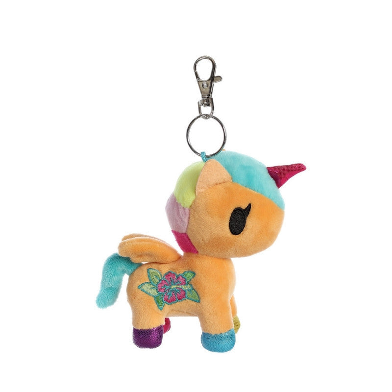 tokidoki - Kaili Unicorno Plush Clip-On - The Giant Peach