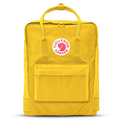 Fjallraven - Kanken Backpack, Warm Yellow