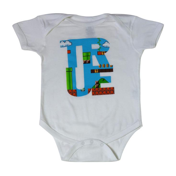 TRUE - 1Up Infant One Piece, White