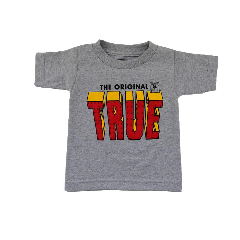 TRUE - Iron Kids Tee, Heather Grey