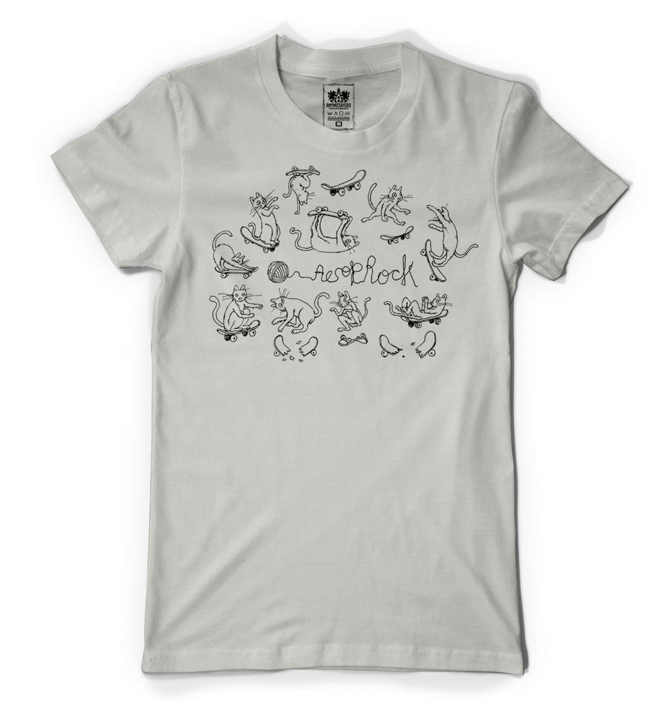 Aesop Rock - Kirby Men's Shirt, Silver - The Giant Peach
