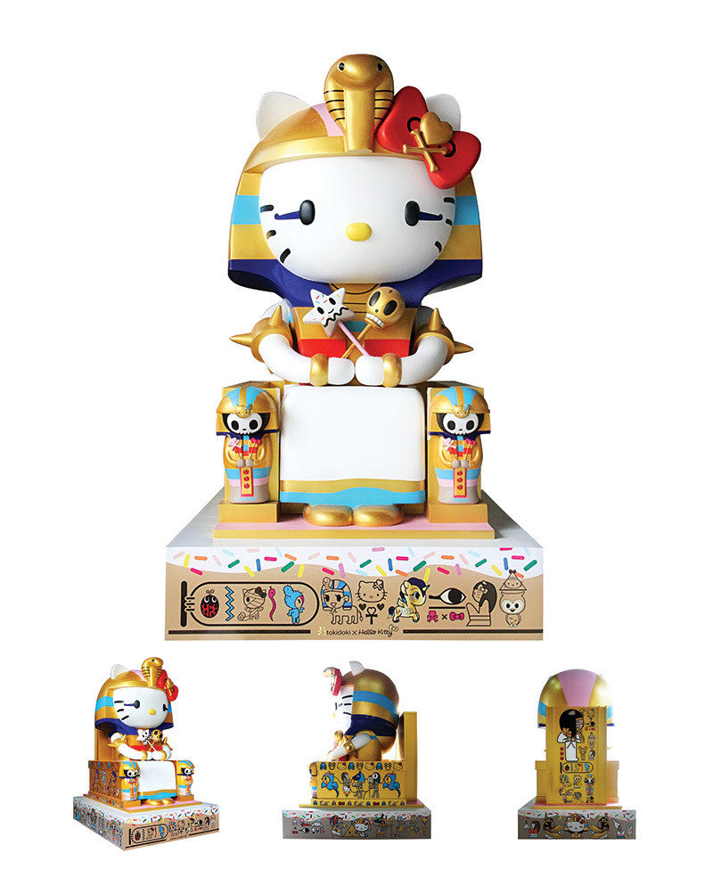Tokidoki  x Hello Kitty Kittypatra Vinyl Figure Toy - The Giant Peach